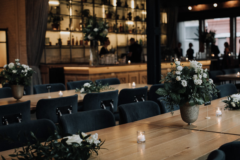 Herbarium Chicago Wedding, Bad Hunter Wedding