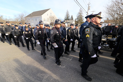 Procession for Townsend Sgt., January 17, 2019