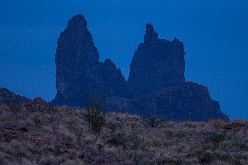 Mules Ears Big Bend National Park Texas Dusk.jpg
