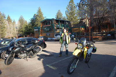 Mt. Pinos ride, Feb 2010