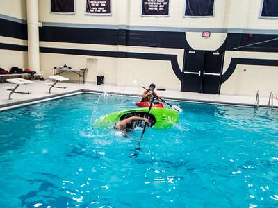 Cincypaddlers Pool Practice at XU