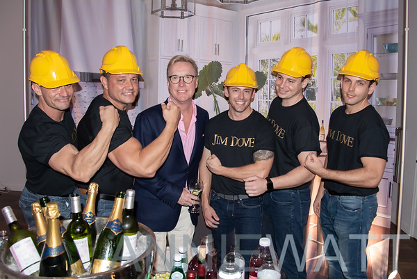 "Feb 1, 2020 -Jim Dove's  hosts ""Hard Hat Cocktails"" Showroom Launch"