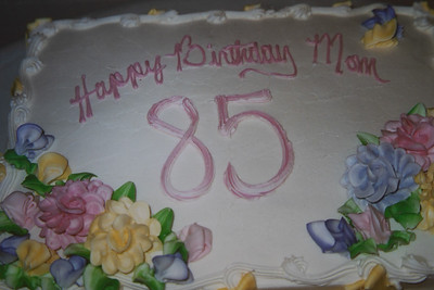 Mom's 85th Birthday