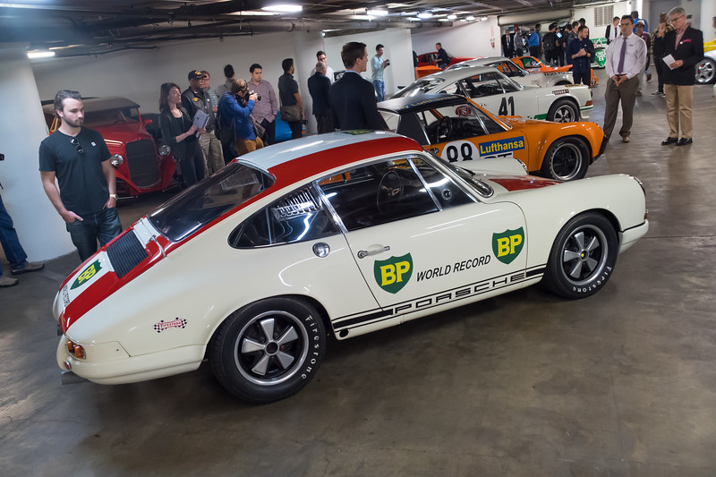 "1967 Porsche 911 R S/N118 99 001R ""World Record Monza"""