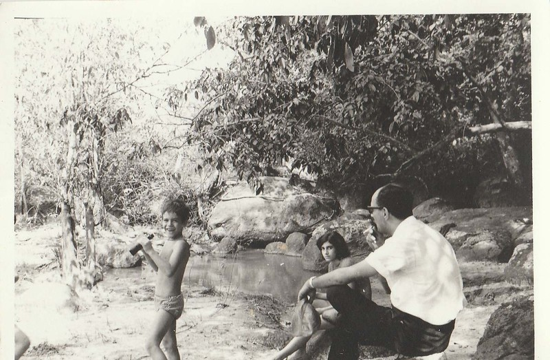 Pica, filha Ana Maria e Joao Gastao