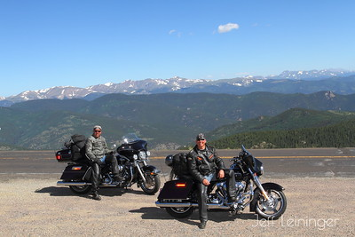 Day Three: Georgetown, to Glenwood Springs, via Mt.Evans and Aspen.