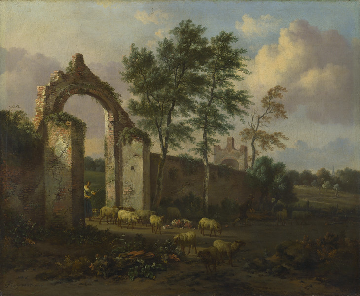 A Landscape with a Ruined Archway