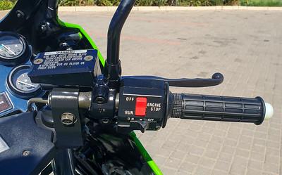 Kawasaki KR250 (JH) on IMA