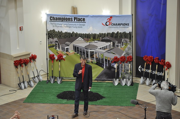 Champion's Place Ground Breaking Ceremony