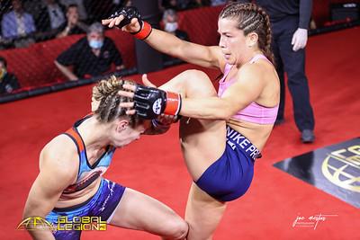 Claudia Zamora (W) vs Hannah Summers