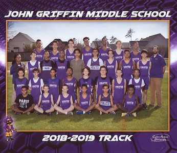 20190499 Track - John Giffin Boys Track 2019 Group Photo