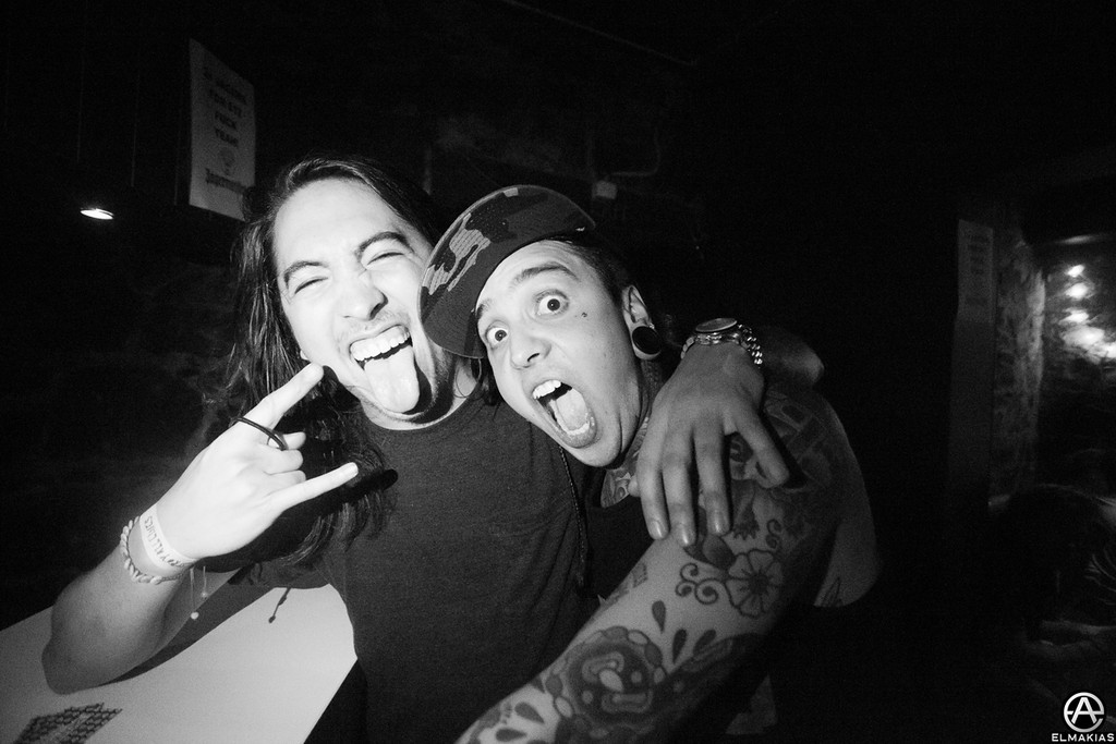 Phil of Of Mice & Men and Tony of Pierce The Veil