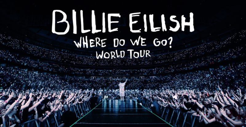 BILLIE EILISH ABOUT TO KICK OFF WHERE DO WE GO? WORLD TOUR