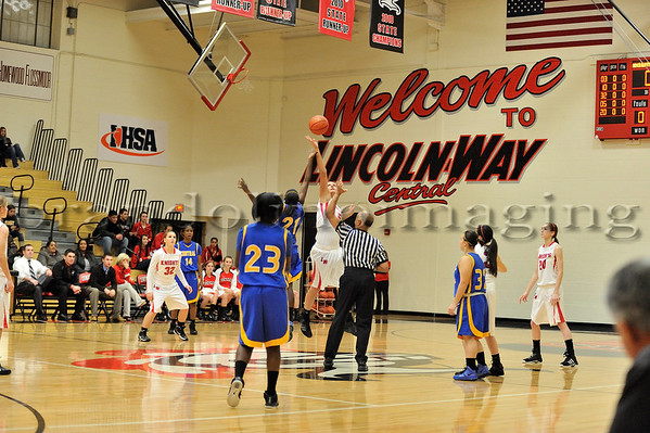 Lincoln-Way Central Varsity Basketball (2011-2012)