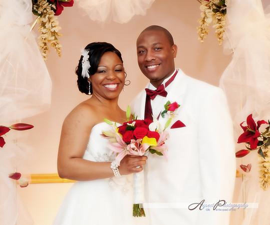 Leslie & Tony wedding formals