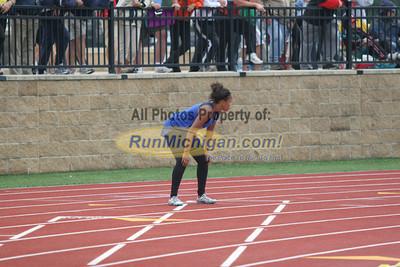 400M Relay Girls - 2012 MHSAA LP T&F Finals Division 1 by Matt