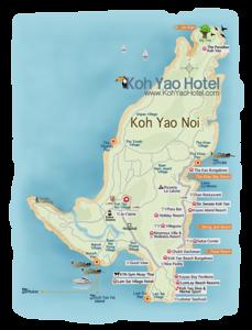 Koh Yao Maps