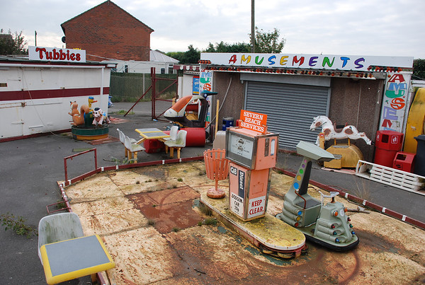 Tubbies Arcade,Severn Beach 2007.