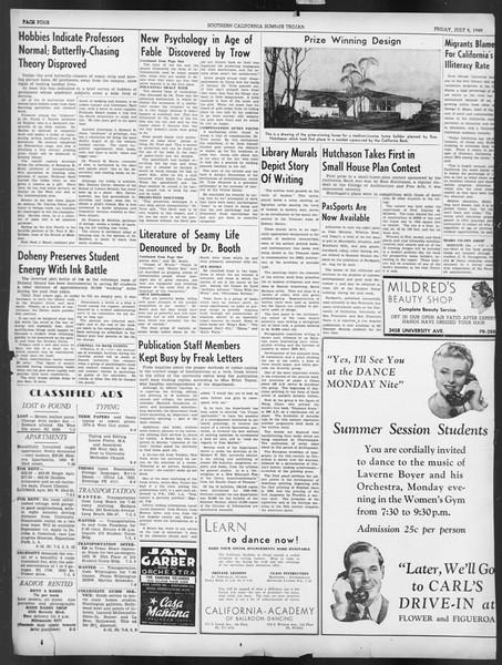 Summer Trojan, Vol. 19, No. 4, July 05, 1940