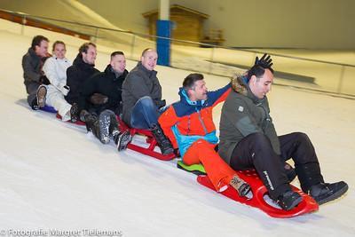 NAC Business Club activiteit 'Snowbattle bij SnowWorld Rucphen'.