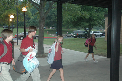 Middle School First Day of School