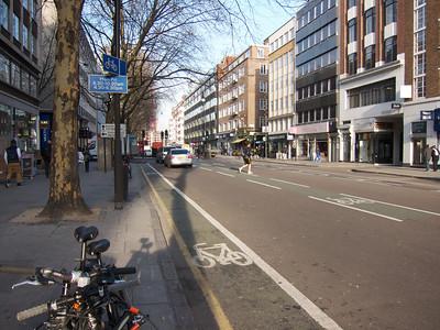 Tottenham Court Road Bike Facility