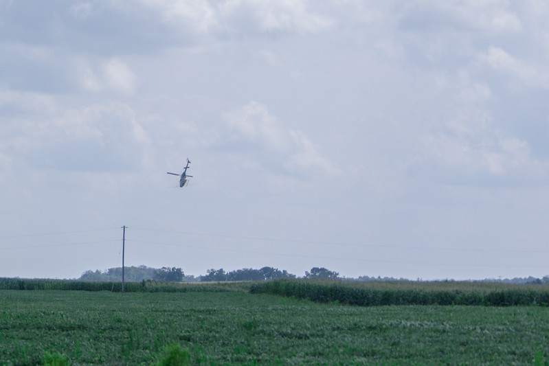 Ohio Helicopter Aerial Spraying