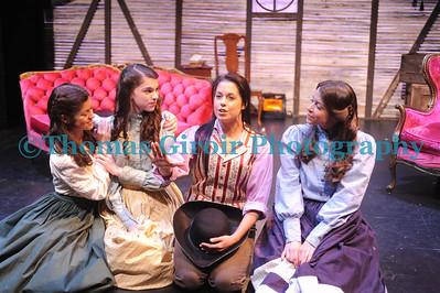 Little Women Dress Rehearsal Jan. 12, 2012