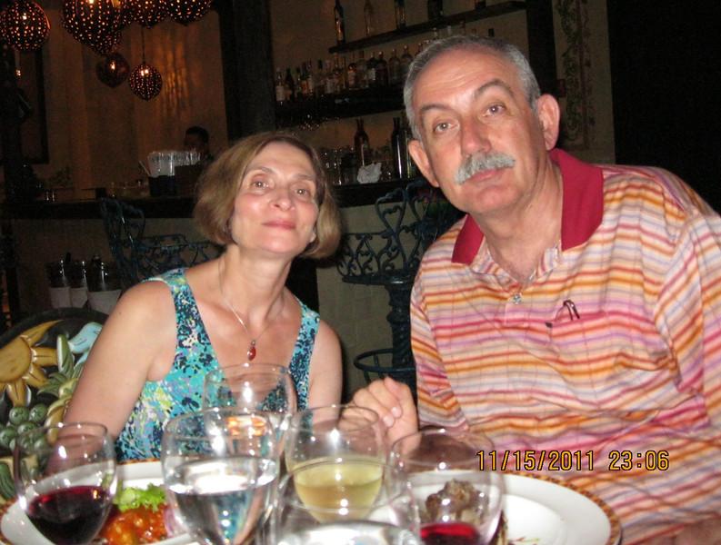 At El Patio restaurant - 5