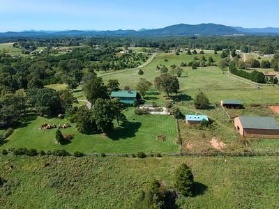 SOLD: 33 Acre Farm w/ Log Home