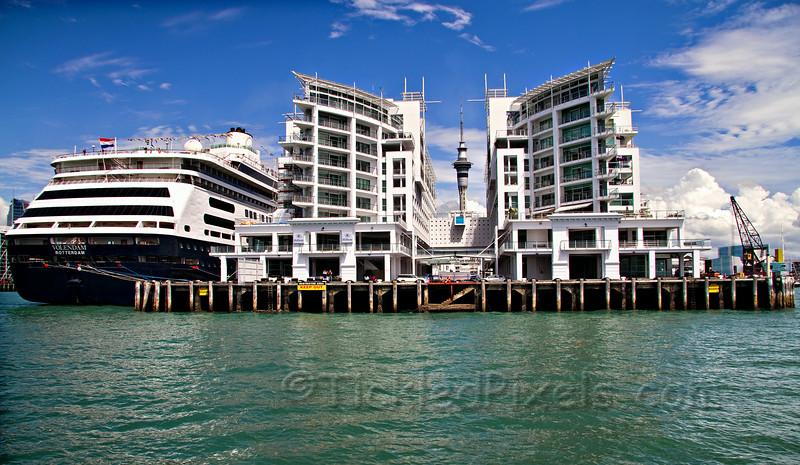 Hilton Auckland and the Skytower