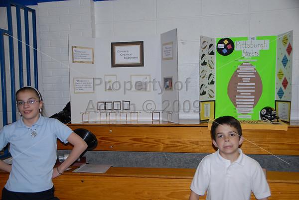 elementary research fair . 4.16.09