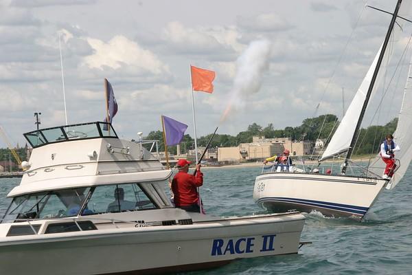 RYC Hook Sailing Race  July 2004