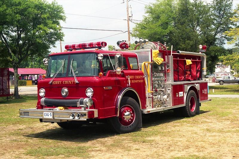 Horry County SC -  Engine 5 - 19xx Ford C 6000-E One.jpg