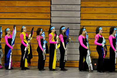 Fort Zumwalt West HS Winter Guard