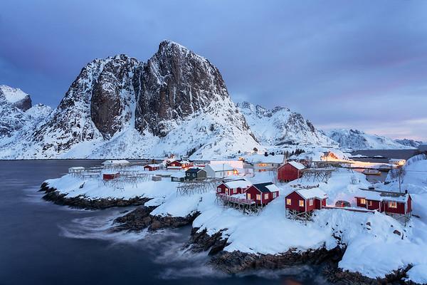 Lofoten Islands, Norway - January 2019