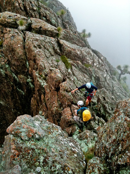 Skyline Traverse on Yulludunida which is a 1500m traverse around a massive volcanic rim
