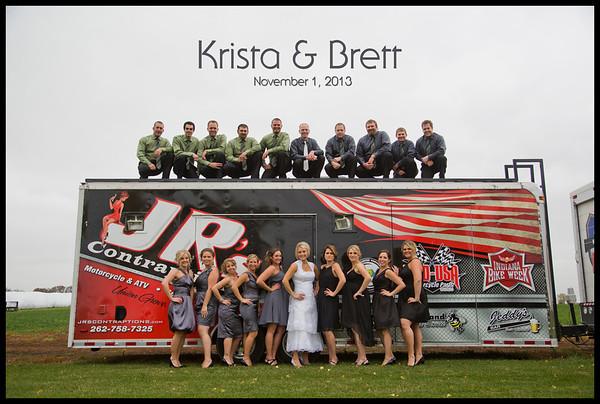 Krista Perttula & Brett Weis Wedding Gallery