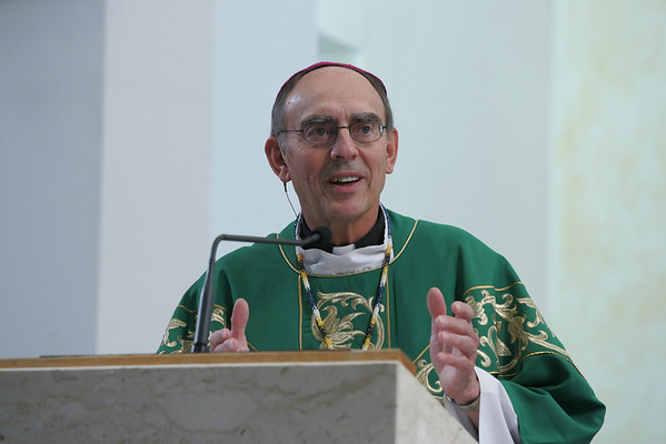 Archbishop Sylvania Lavoie at St. Ignacious Loyola Catholic Church