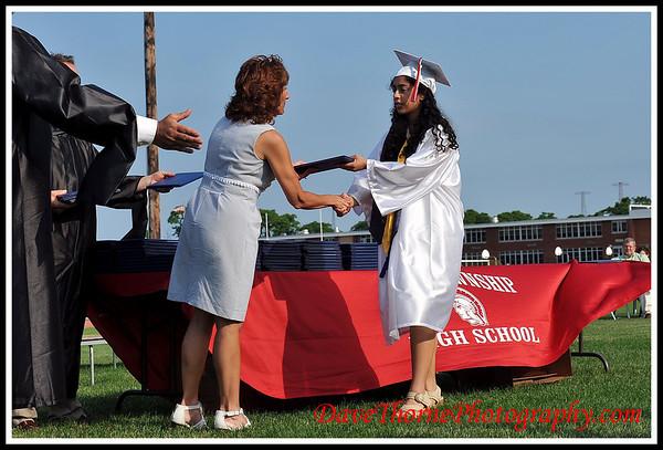 OTHS 2012 Graduation - Presentation of Diplomas