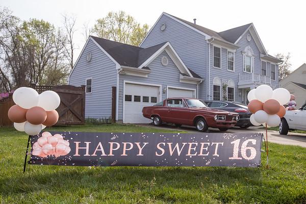 Bailey's Sweet Sixteen