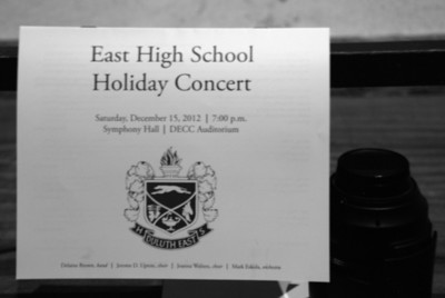 2012 12 15: Duluth East H.S. Holiday Concert