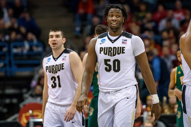 3/16/17 NCAA Tournament, Vermont, Caleb Swanigan
