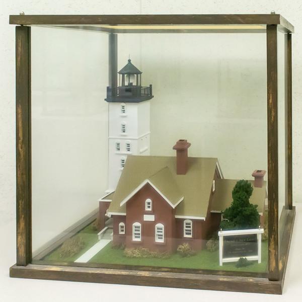 Presque Isle Light - 1875, Model built 1996