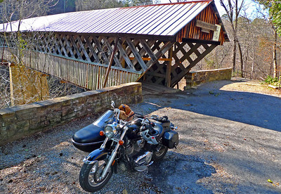 Horton Mill Bridge with Dogs