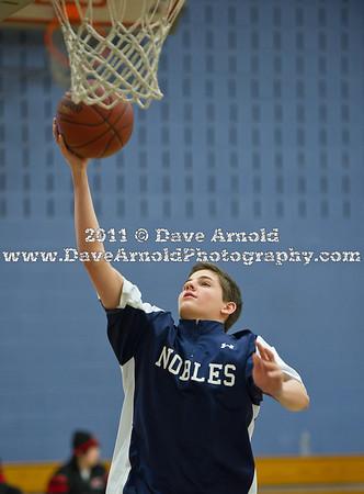 2/16/2011 - Boys Varsity Basketball - Nobles vs St. Mark's