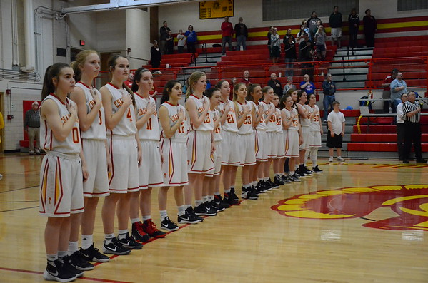 CHS Girls Hoops Regional win 2/15/18