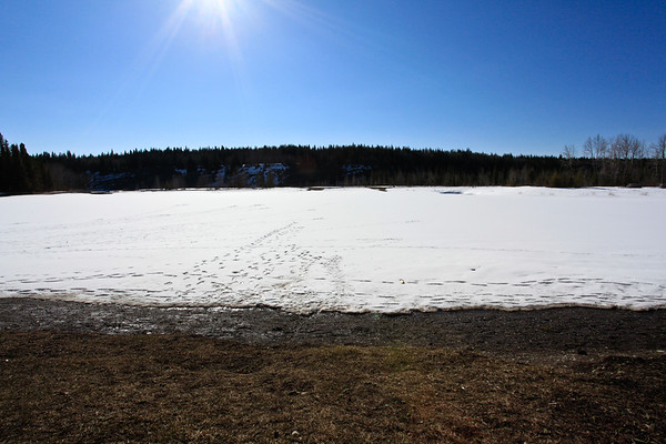 Bragg Creek Allen Bill Pond HDR