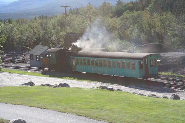 Mount Washington  Railway 2006