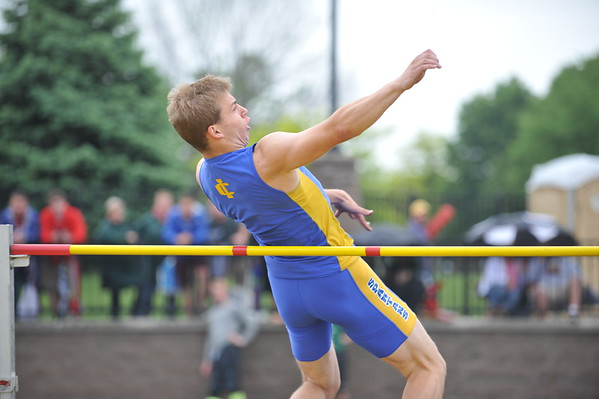 D2 Boys' High Jump - 2015 MHSAA LP TF Finals